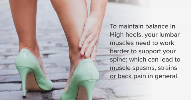 High Heels Back Pain