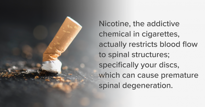 Nicotine Back Pain