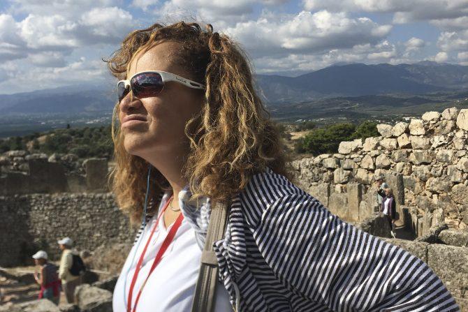 Robin Greece Trip After Surgery