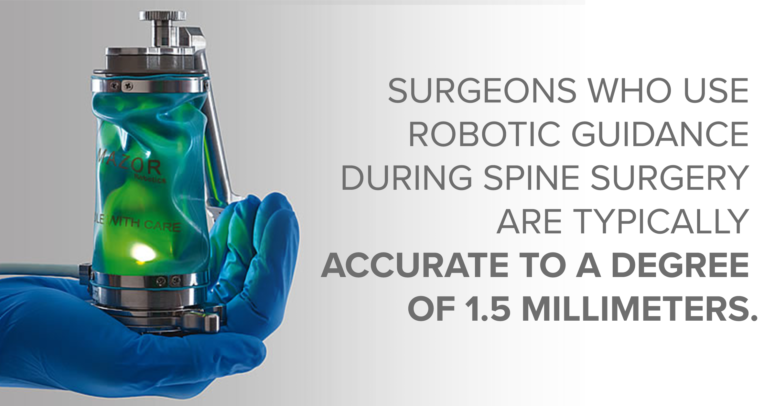Robotic Spine Surgery Accuracy