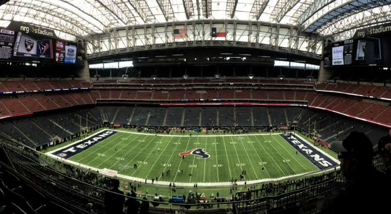 Interior of the Houston Texans Stadium