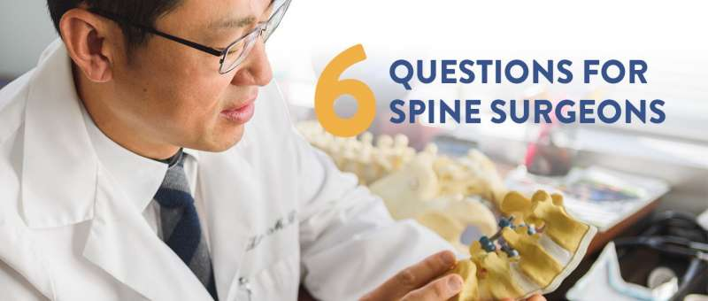 Dr. Lim Answers 6 Questions For Spine Surgeons with Pain Free Living